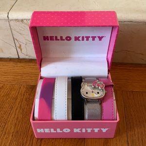 Hello Kitty girls watch set New in box